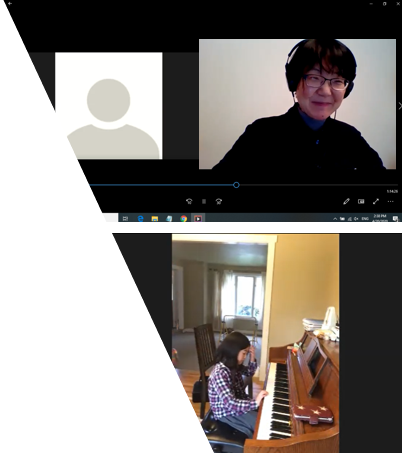 Emiko Hori is currently teaching online piano lesson from Mercer Island WA